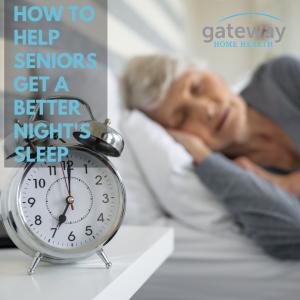 How to Help seniors with a good night's sleep-2