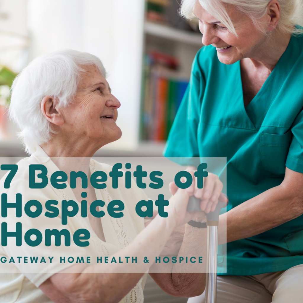 benefits of hospice at home